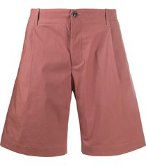 nine in the morning flared chino shorts - pink