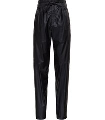 isabel marant duard faux leather pants