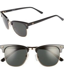 women's brightside copeland 51mm sunglasses - black/ grey