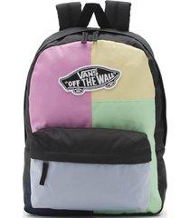 mochila mujer realm backpack multicolor vans