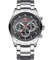 reloj análogo f0170g-3 hombre gris