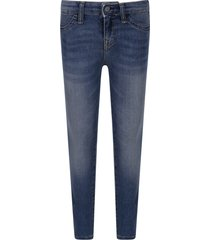 ralph lauren blue jeans for girl with logo