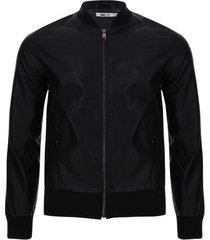 chaqueta en pilipiel hombre color negro, talla l
