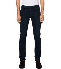 men's frame l'homme slim fit jeans, size 40 - blue