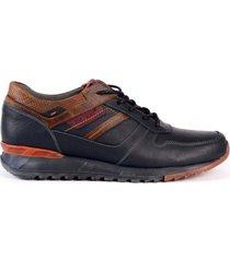 zapato sneaker para hombre san polos 3378 azul