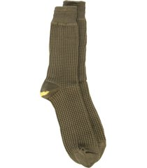 anonymous ism thermal textured socks - green