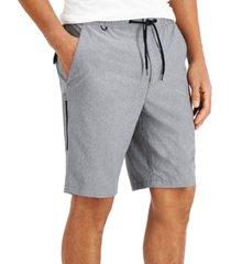 alfani men's regular-fit tech cargo shorts, created for macy's