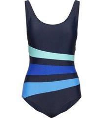 swimsuit bianca classic baddräkt badkläder blå wiki