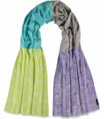 fraas paisley shimmer scarf