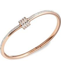 eye candy la women's luxe sophie titanium & cubic zirconia bracelet