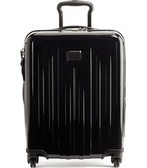 men's tumi v4 collection 22-inch continental expandable spinner carry-on - black