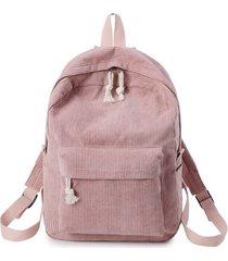 bolso mujer maleta pana mediano 1241f rosado