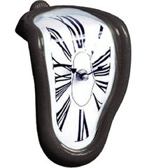 trenzado de 90 grados creativos derretido reloj reloj de sincronizació