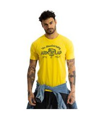 camiseta arimlap bulldog amarelo