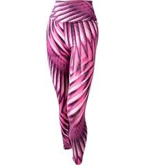 calça legging banana rosa legging macia estampado