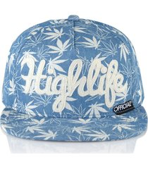 gorra azul official highlife
