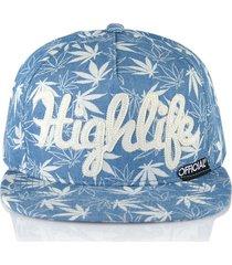 gorra azul official highlife