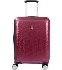 maleta de viaje mediana rojo magic - explora