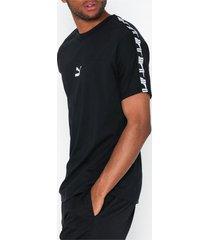 puma puma xtg tee t-shirts & linnen black