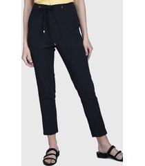 pantalón ash jogger negro - calce ajustado