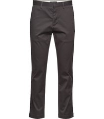 aiden slim rapid movement chino chinos byxor grå banana republic