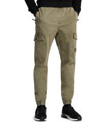 men's river island cargo pants, size 32 x 32 - green