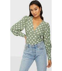 glamorous dot blouse blusar & skjortor
