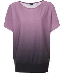 maglia con spalle scoperte (viola) - bodyflirt