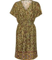 emmeliecr dress korte jurk groen cream