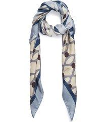 vintage modern scarf - beige/ottanio