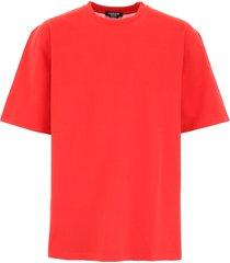 calvin klein cut-out t-shirt