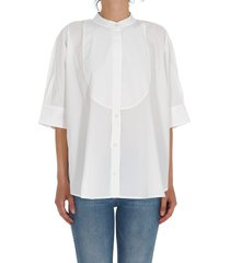 roberto collina shirt with plastron