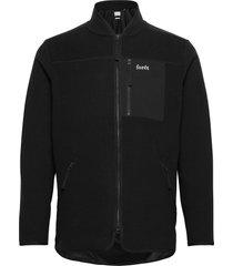 silence fleece jacket - army tunn jacka svart forét