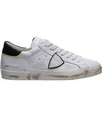 scarpe sneakers uomo in pelle prsx