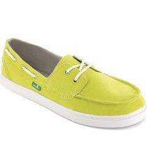 zapatos mujer sanuk sailaway citrus 8