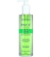sabonete líquido facial higienizante acnederm pele oleosa 210ml - payot único