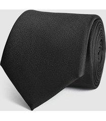reiss aiden - silk tie in black, mens
