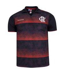 camisa polo do flamengo score - masculina