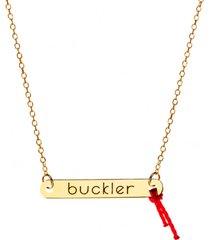 naszyjnik złoty buckler