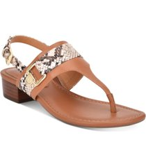 tommy hilfiger keely thong sandals women's shoes