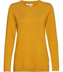 liz gebreide trui geel brax