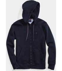 tommy hilfiger men's adaptive solid hoodie sky captain - xxl