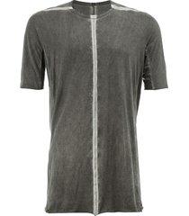 isaac sellam experience stitched t-shirt - grey