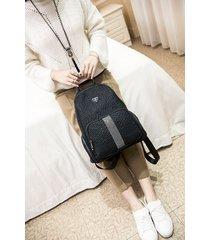 mochila de mujer, bolso de mujer de moda mochila de diamantes salvajes