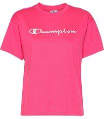 crewneck t-shirt t-shirts & tops short-sleeved rosa champion