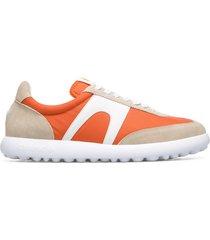 camper pelotas xlite, sneaker uomo, beige/arancione/bianco, misura 46 (eu), k100545-006