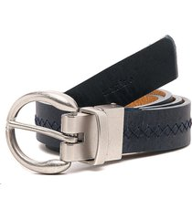 cinturón doble faz negro-mostaza tannino