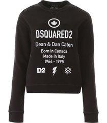 dsquared2 born in canada sweatshirt