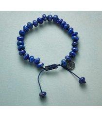 sundance catalog women's blue moorings bracelet