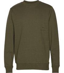 equalise crew sweat-shirt trui groen neuw